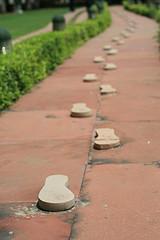 Footsteps  of the Mahatma