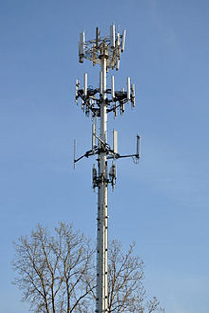 Modern Cell Tower Art-ThinkSpin.com