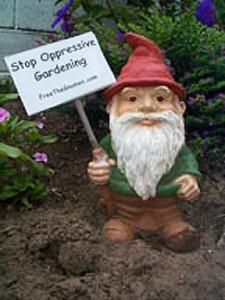 Stop oppressive gardening