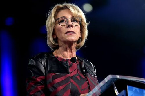 Betsy DeVos speaks at CPAC 2017